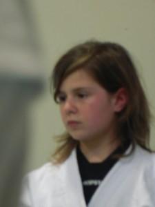 la franceschina al suo primo allenamento regioanle
